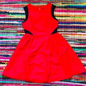 Prabal Gurung Target Red Fit and Flare Dress
